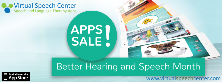 Better Hearing and Speech Month Apps Sale
