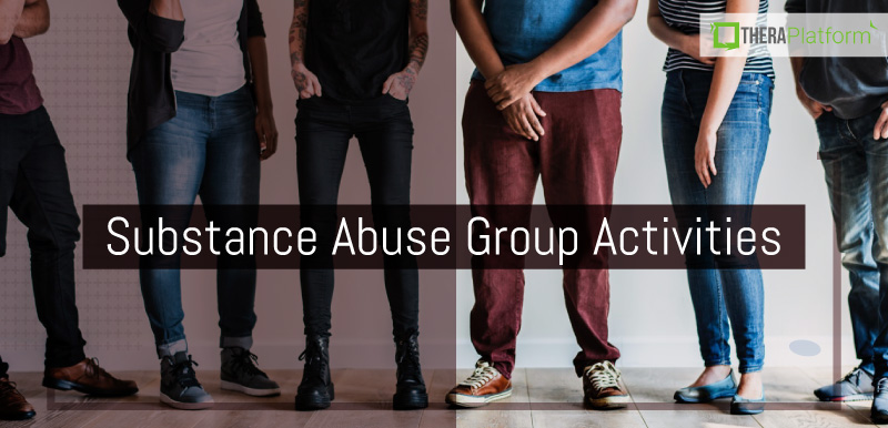 substance abuse group activities, substance abuse group ideas, substance abuse group therapy topics, substance abuse groups