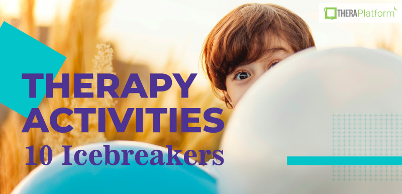 icebreakers, therapy activities, teletherapy, telehealth