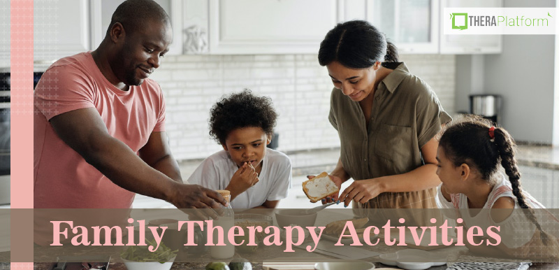 family therapy activities, family therapy techniques, telehealth, teletherapy