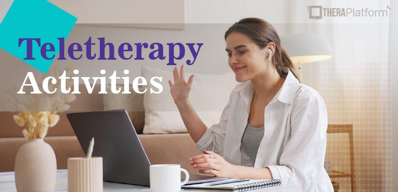 teletherapy activities, teletherapy resources, teletherapy games, online therapy games, activities for telehealth, teleheathl