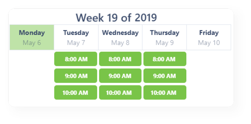 Scheduling Made Easy