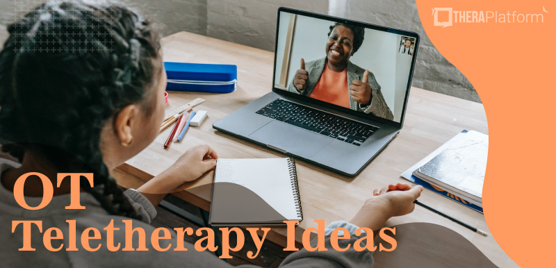 OT teletherapy ideas, OT activities, OT teletherapy activities, OT telehealth ideas