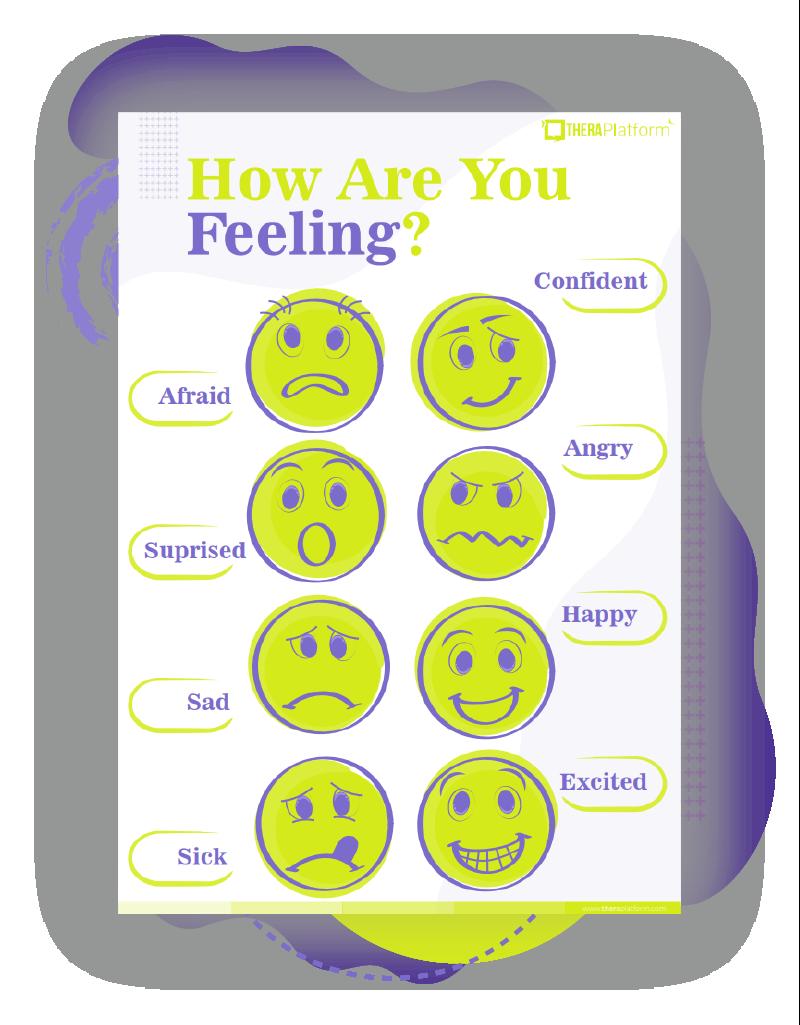 Emotion Faces For Kids