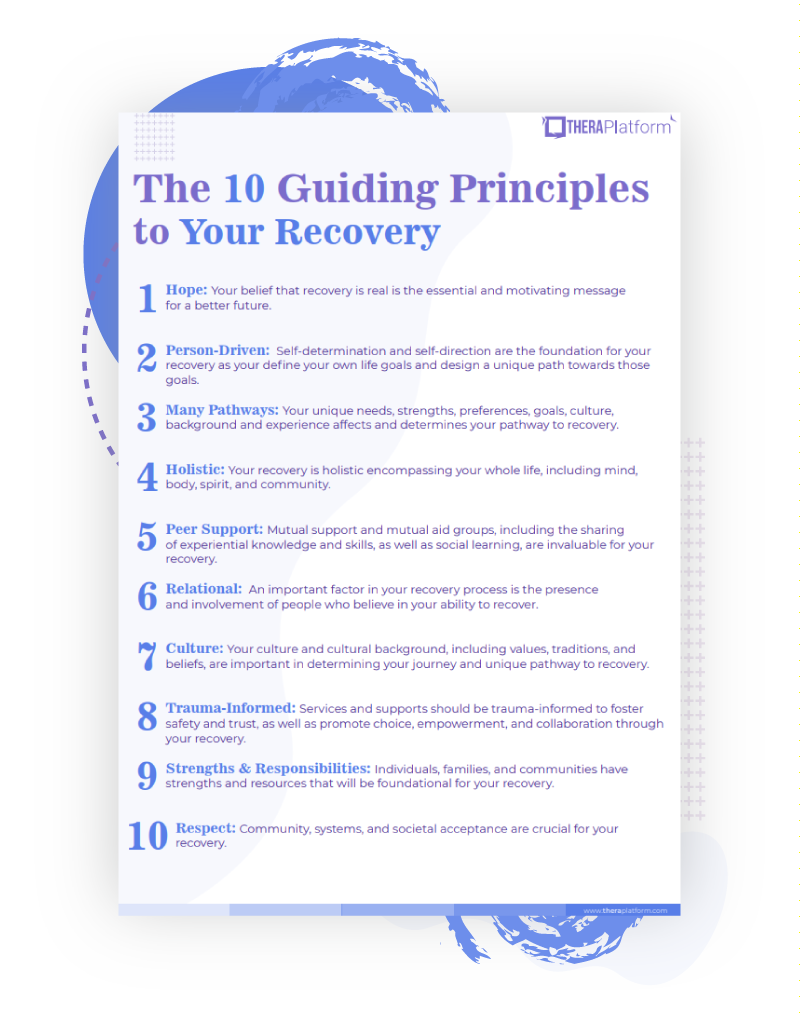 The 10 Principles of Recovery List