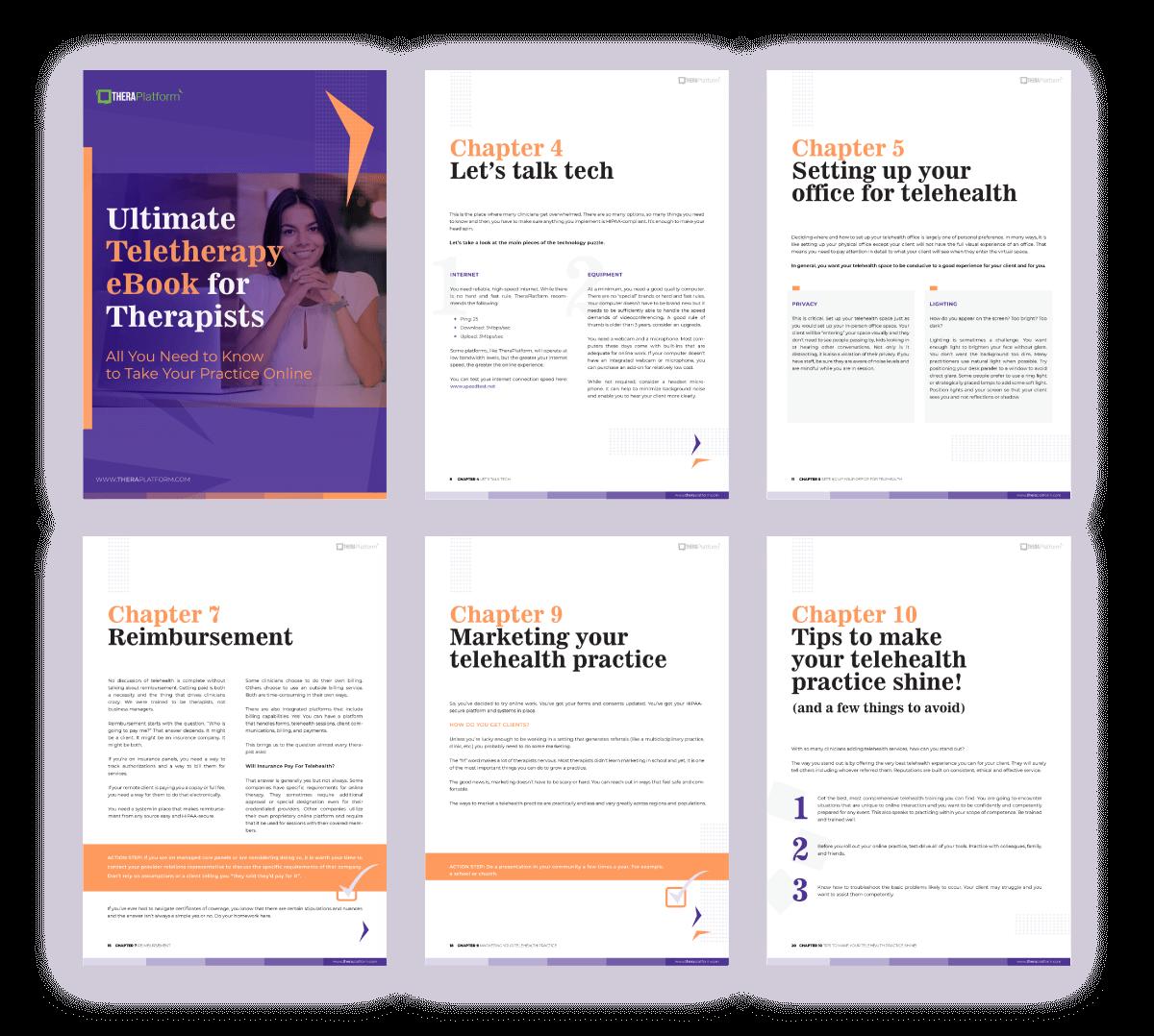 Teletherapy e-book
